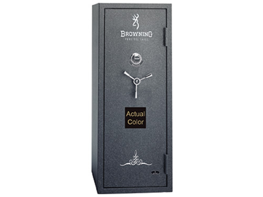 Browning Bronze Series Fire-Resistant Safe 7/14 +5 DPX Gloss Black with Gray Interior