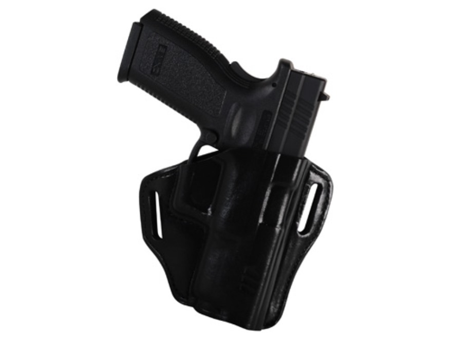 """Bianchi 57 Remedy Outside the Waistband Holster Right Hand Springfield XD 9, 40 4"""" Leather"""