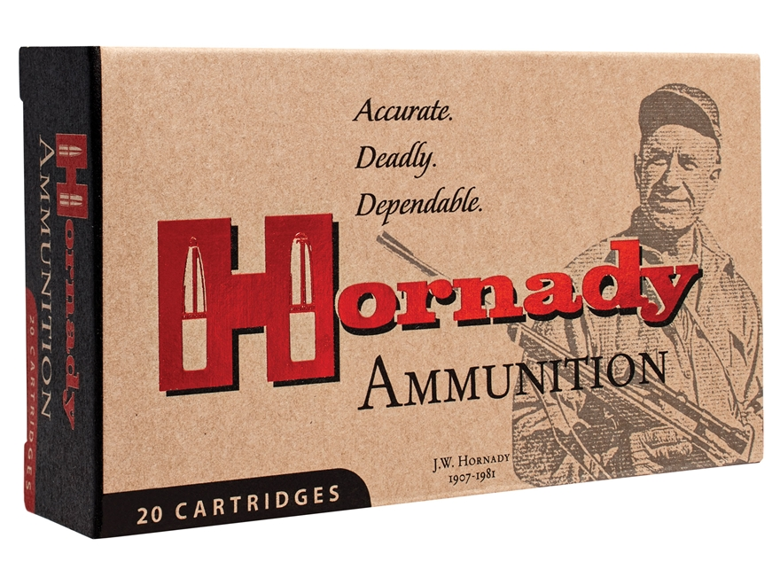 Hornady Match Ammunition 6.5 Creedmoor 120 Grain ELD Match Box of 20