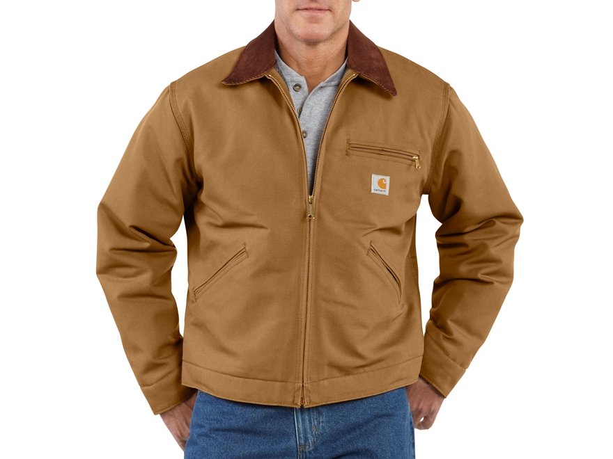 Carhartt Men's Duck Detroit Blanket Lined Jacket Cotton