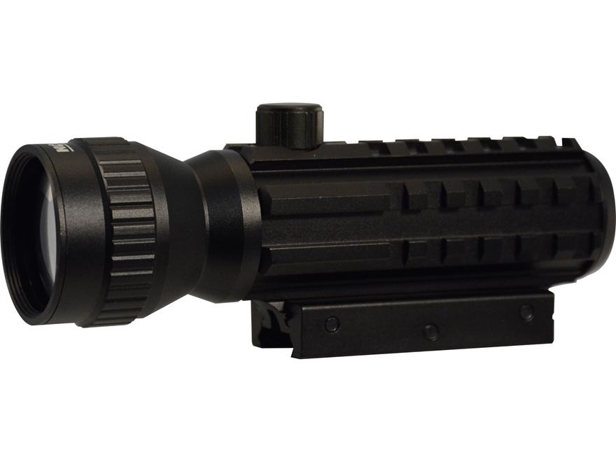 Konus SightPro DP Red Dot Sight 1X 30mm with Integral Weaver-Style Mount and 2x Power B...