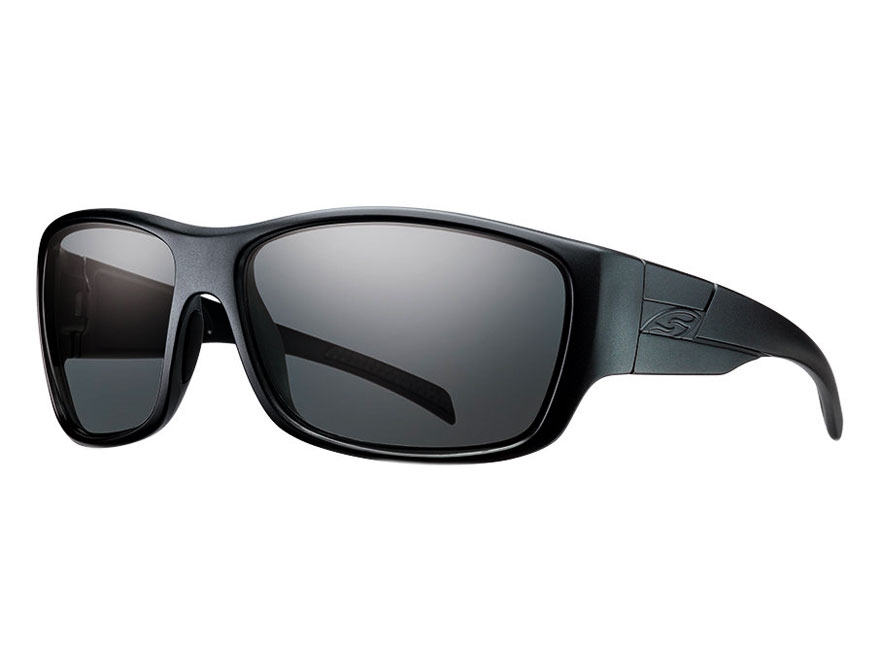 Smith Optics Elite Frontman Tactical Sunglasses Black Frames Gray Lenses