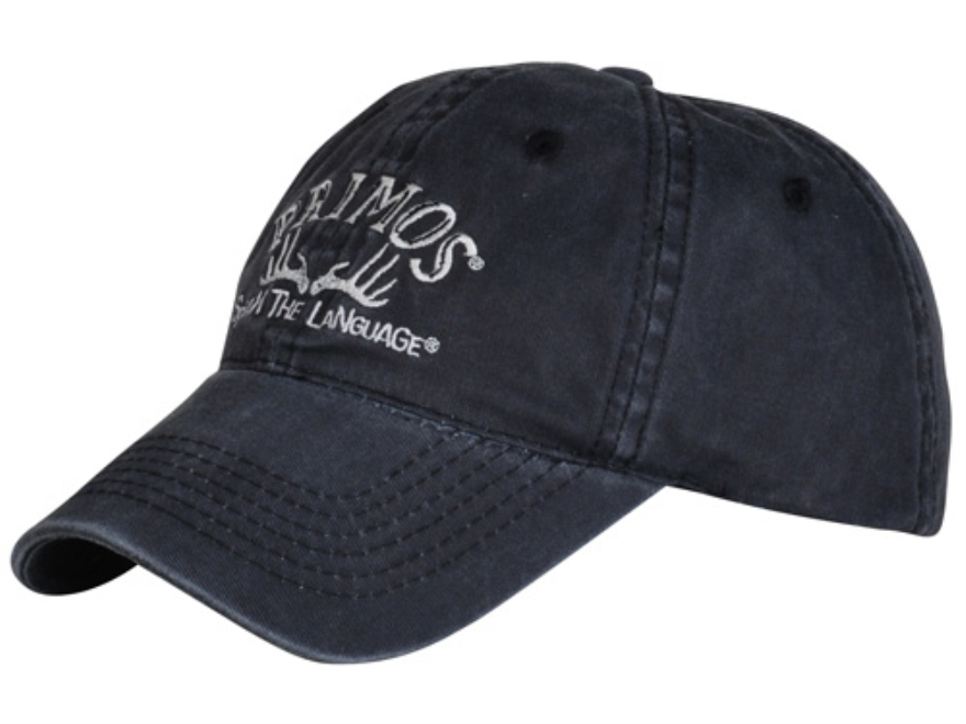 Primos Horns Logo Cap Cotton Black