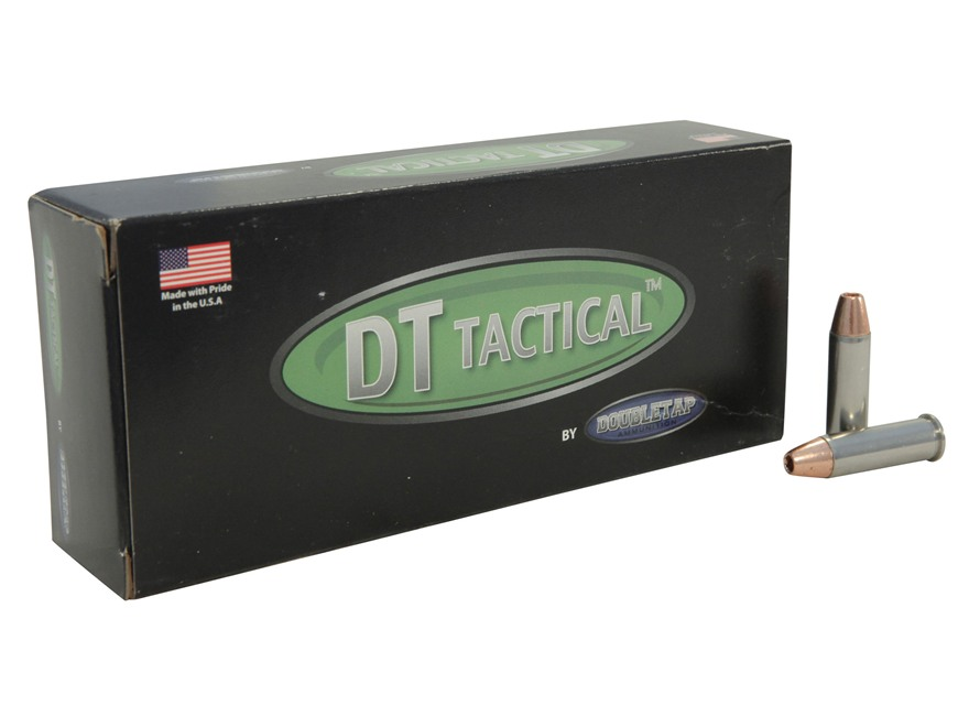 Doubletap Ammunition 38 Special +P 110 Grain Barnes TAC-XP Hollow Point Lead-Free Box o...
