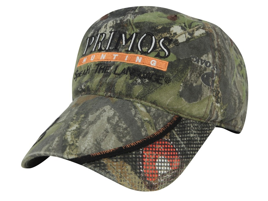 Primos Logo Cap Cotton Mossy Oak Obsession Camo