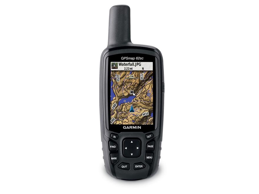 Garmin GPSMAP 62sc Handheld GPS Unit