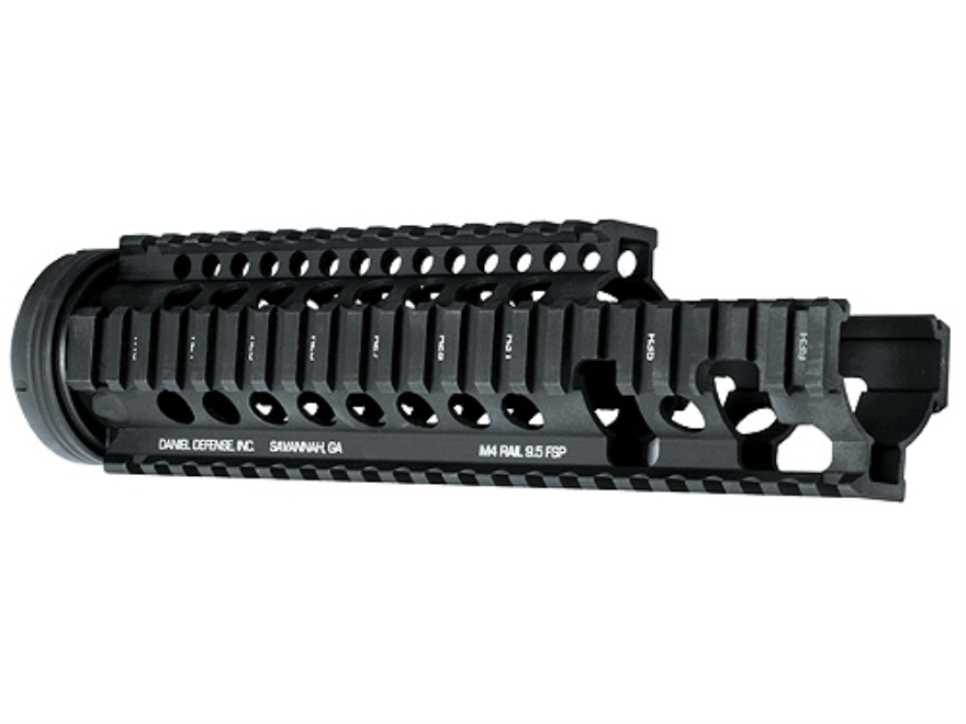 Daniel Defense M4 9.5 FSP Free Float Tube Handguard Quad Rail AR-15 Extended Carbine Le...