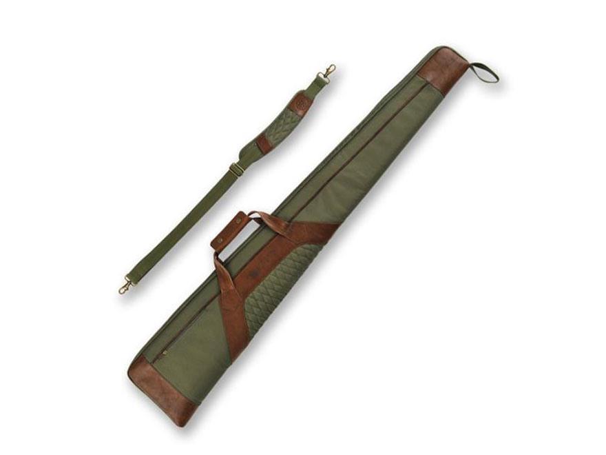 "Beretta B1 Signature 53"" Shotgun Case Polyester/Leather Loden Green/Brown"