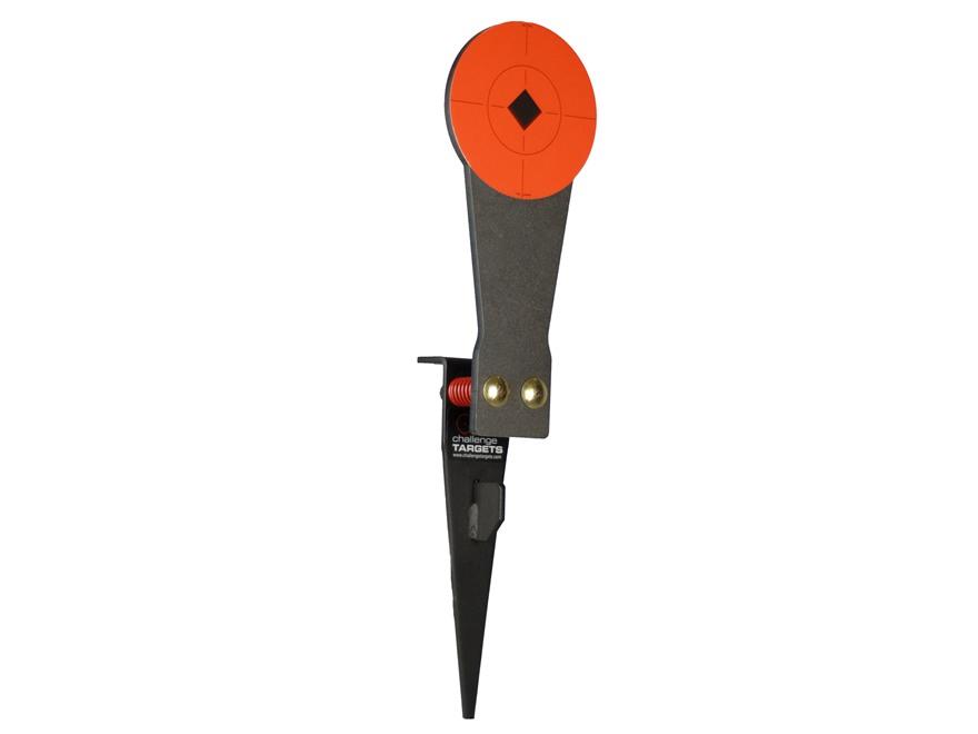 "Challenge Targets Stake-N-Shoot Steel Rifle Target 6"" Rifle Colt Speed Plate"
