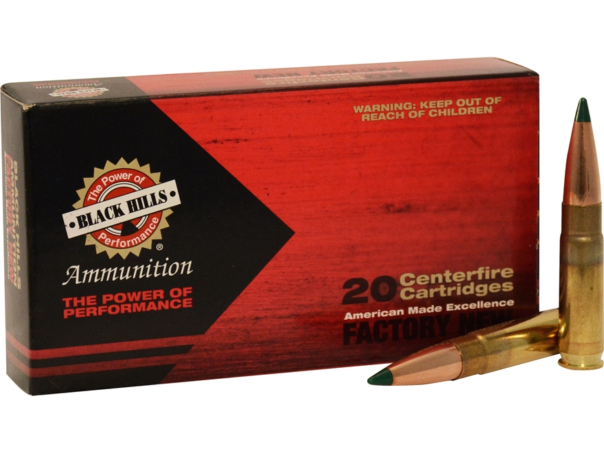 Black Hills Ammunition 300 Whisper 125 Grain Sierra Tipped MatchKing (TMK)  Box of 20