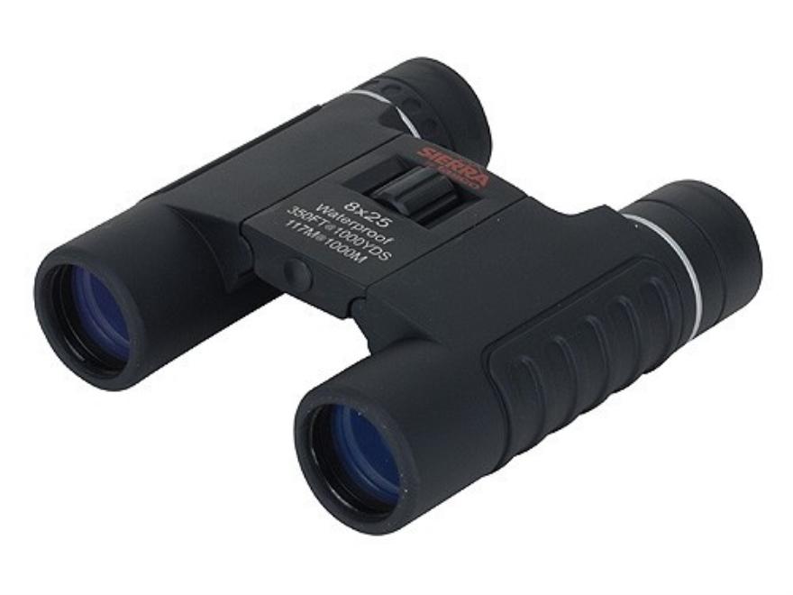 Tasco Sierra Compact Binocular 8x 25mm Roof Prism Black