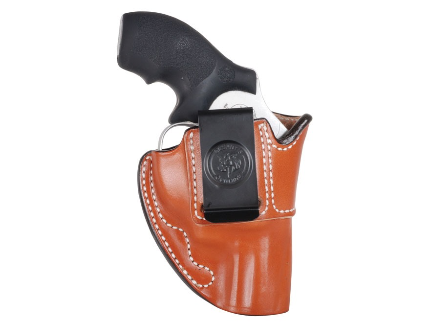 DeSantis Summer Heat Inside The Waistband Holster Right Hand S&W J-Frame Leather Brown