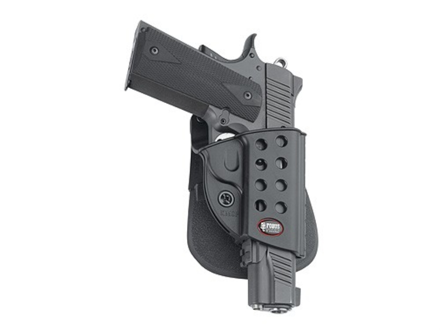 Fobus Evolution Roto Paddle Holster Right Hand S&W M&P Shield, Walther PPS Polymer Black