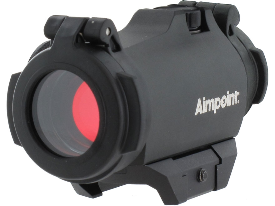 Aimpoint Micro H-2 Red Dot Sight 4 MOA Dot with Weaver-Style Mount Matte