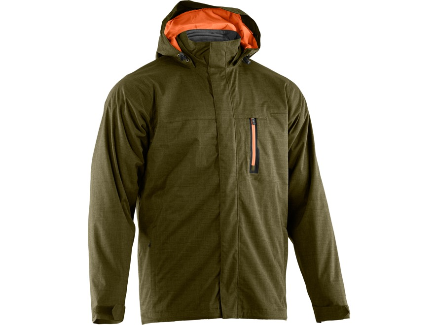 Under Armour Men's ColdGear Infrared Furley 3-in-1 Waterproof Jacket Polyester Greenhea...