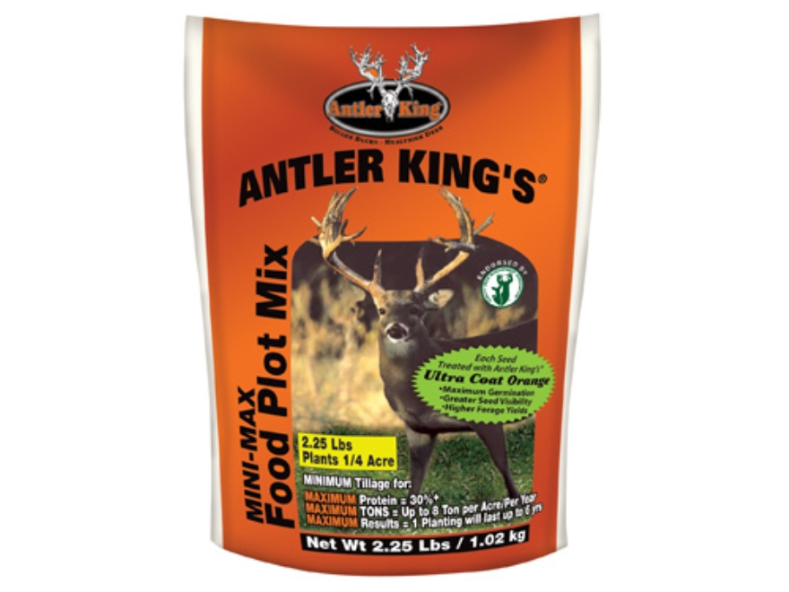 Antler King Mini-Max Perennial Food Plot Seed 2.25 lb