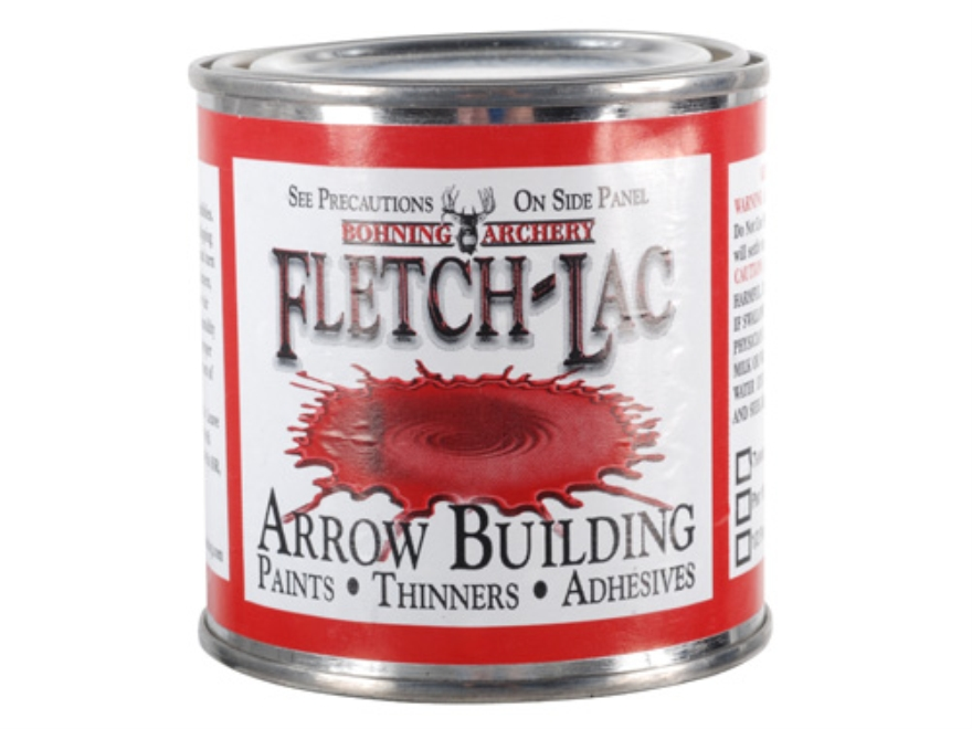 Bohning Fletch-Lac Supercoat Clear Arrow Sealer Lacquer 1/2 Pint