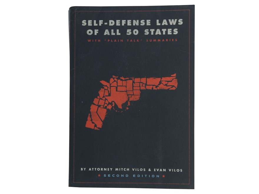 """Self-Defense Laws of All 50 States"" Book by Mitch Vilos & Evan Vilos"