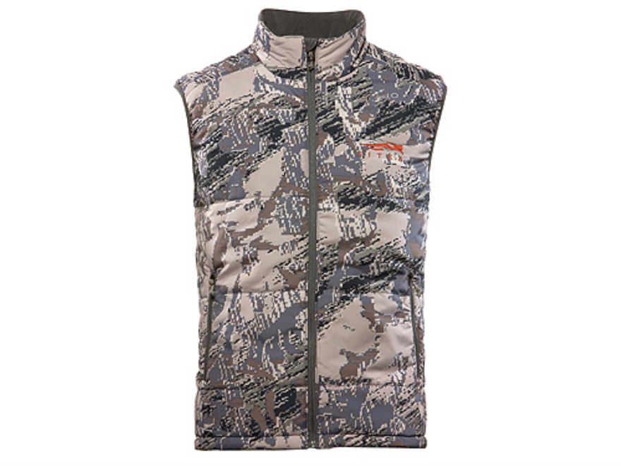 Sitka Gear Men's Kelvin Lite Insulated Vest Polyester Gore Optifade Open Country Camo L...