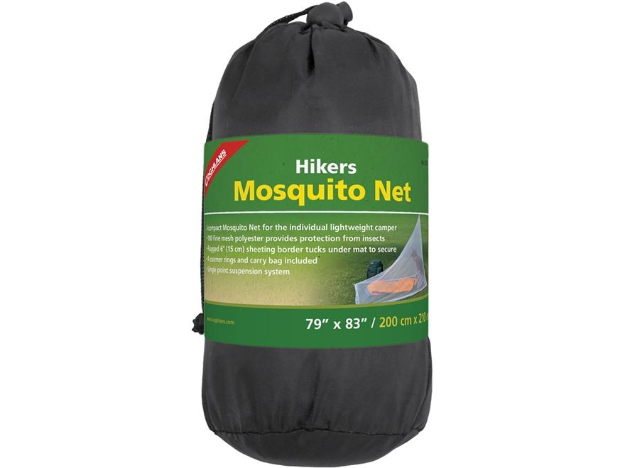 "Coghlan's Hiker's Mosquito Net 83"" x 57"" x 73"" Mesh"