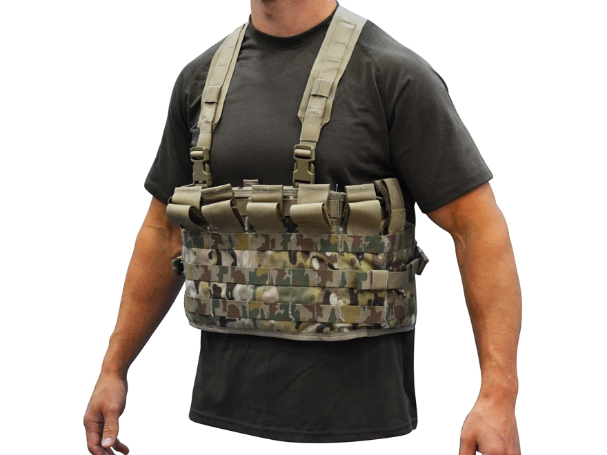 Military Surplus MOLLE II TAP Harness Assembly Grade 1 Multicam