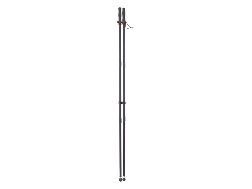 Bog-Pod Shooting Sticks Black Aluminum