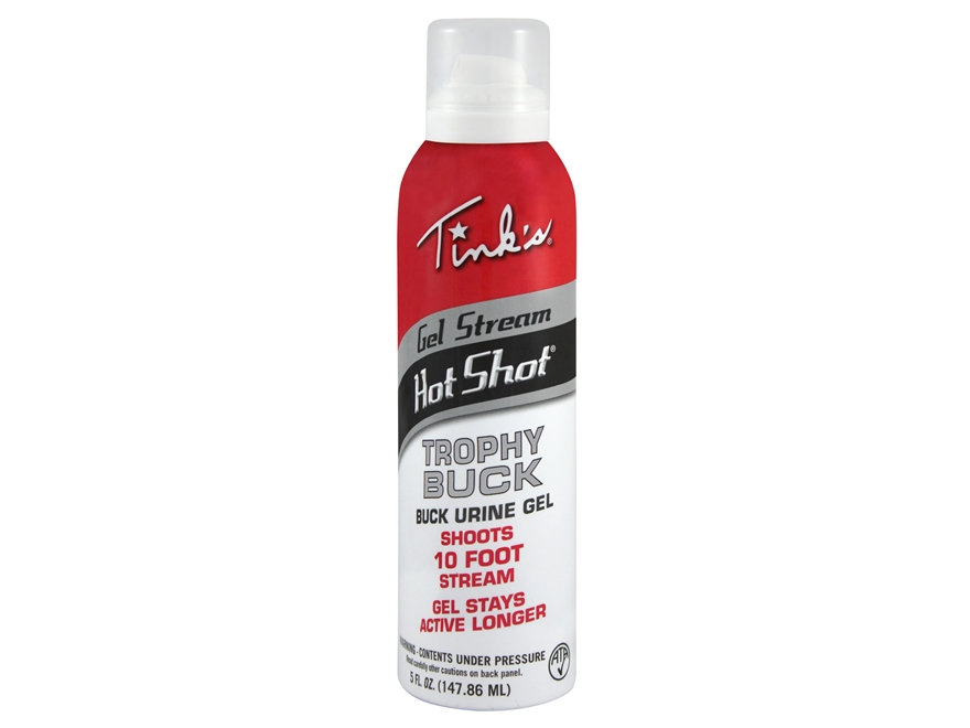 Tink's Gel Stream Hot Shot Trophy Buck Deer Scent 5 oz Aerosol