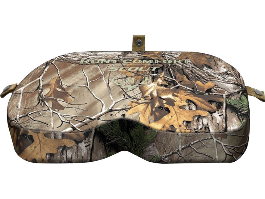 Hunt Comfort GelCore Series Scout Hunting Seat Realtree Xtra Camo