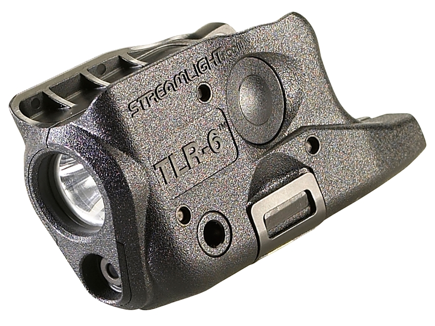 Streamlight TLR-6 Glock 26, 27, 33 Weaponlight LED and Laser Polymer Black