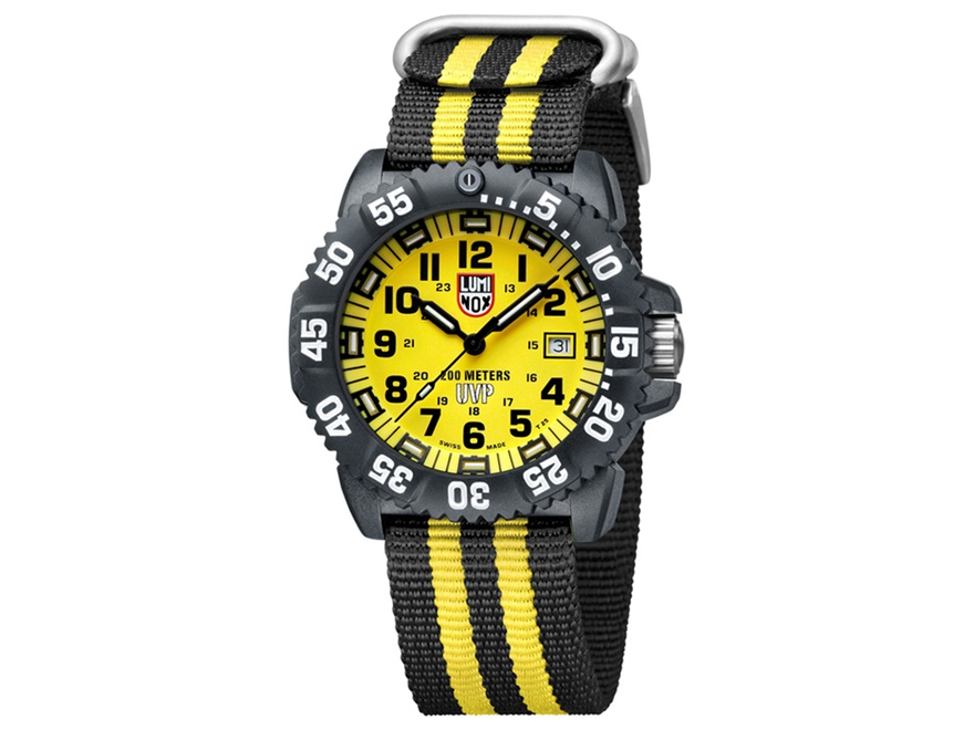 Luminox Navy SEAL Colormark Watch Polycarbonate/Rubber Yellow/Black