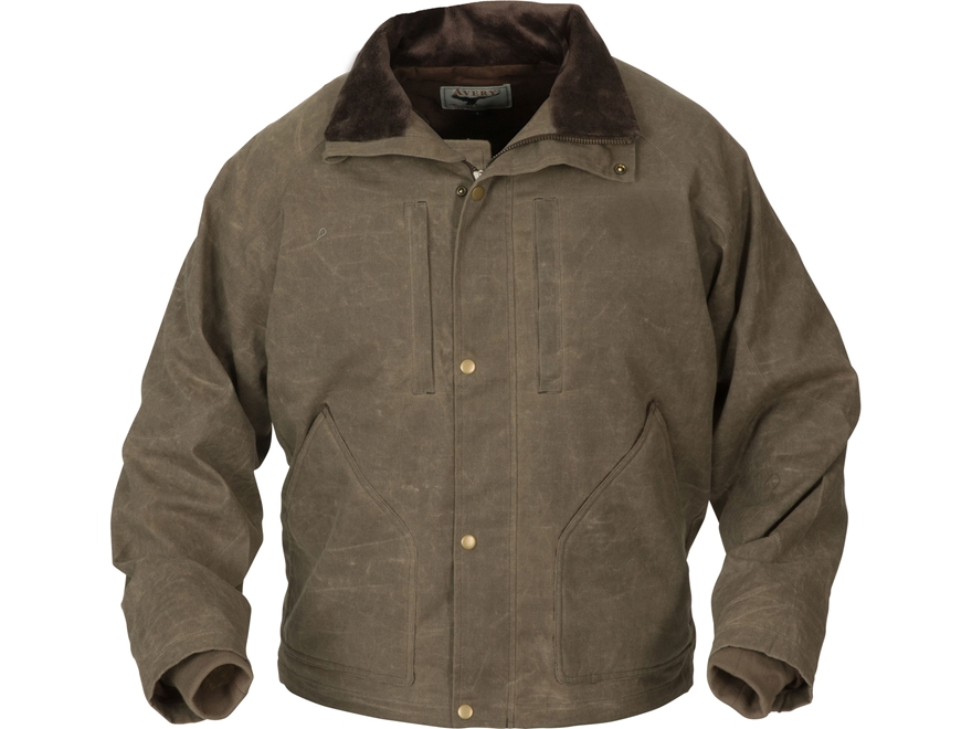 Avery Men's Heritage Collection Field Jacket Cotton/Poly Brown