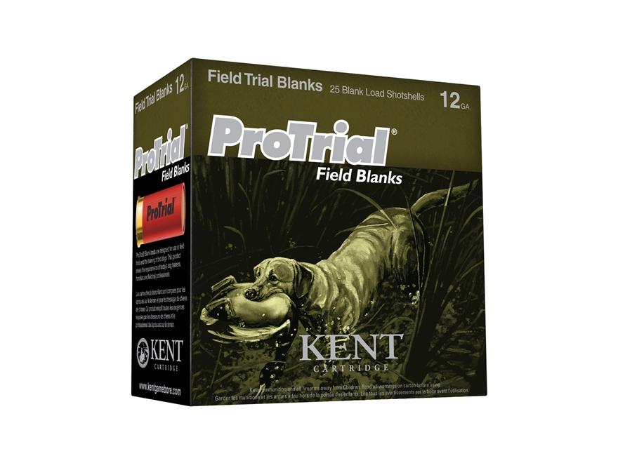"""Kent Cartridge ProTrial Field Blank Ammunition 12 Gauge 2-1/2"""" Smokeless Blank"""