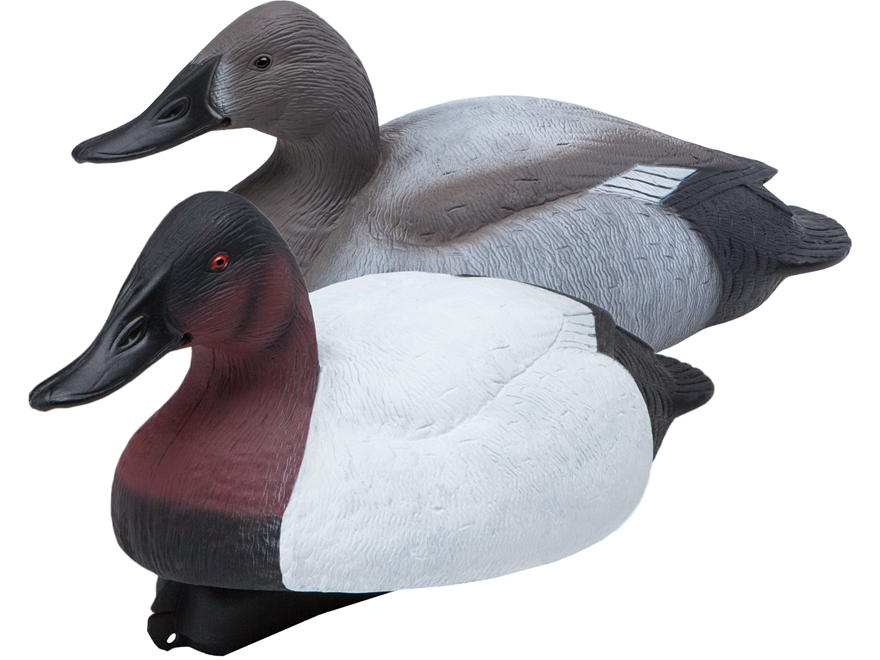 Final Approach Gunner HD Canvasback Duck Decoy Pack of 6