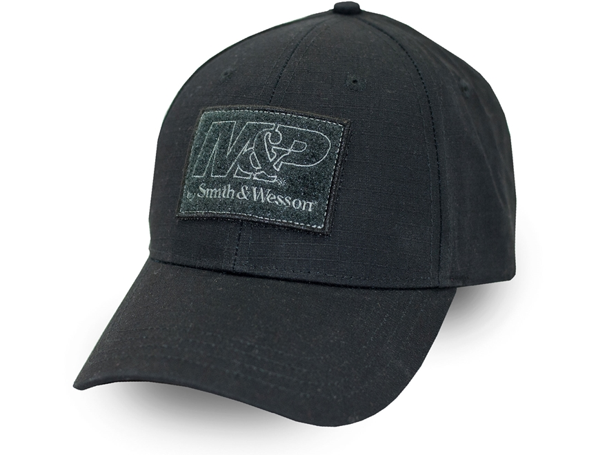 Smith & Wesson M&P Ripstop Patch Cap Polyester Ripstop Black