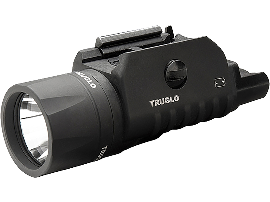 TRUGLO Tru Point Weapon Light with Laser Sight Universal Rail Mount with Remote Pressur...