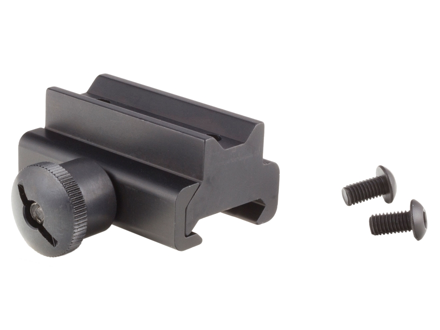 Trijicon Weaver Mount for Compact ACOG with Colt Knob High Matte