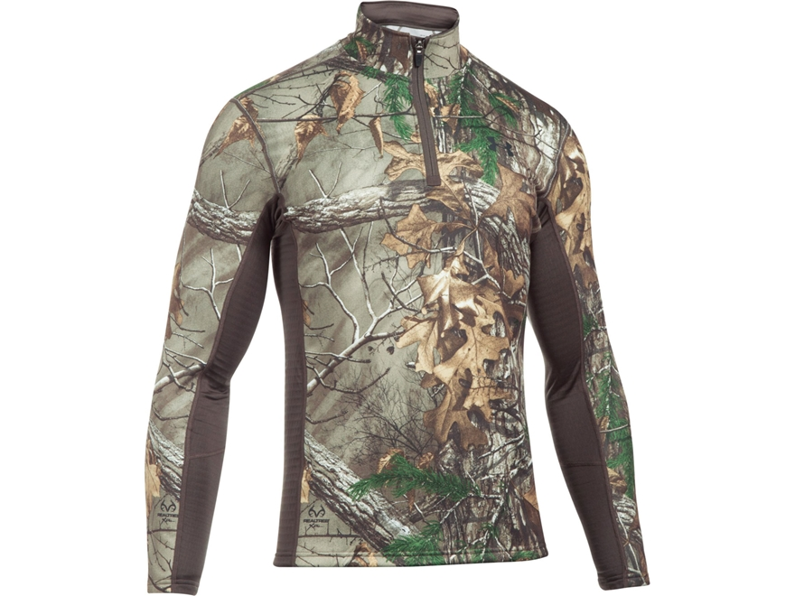 Under Armour Men's UA Extreme Base Layer 1/4 Zip Shirt Long Sleeve