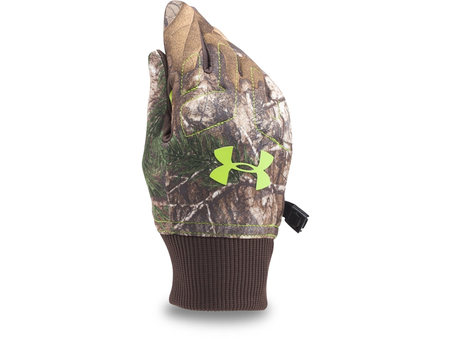 Under Armour UA Youth Armour ColdGear Infrared Fleece Gloves Polyester