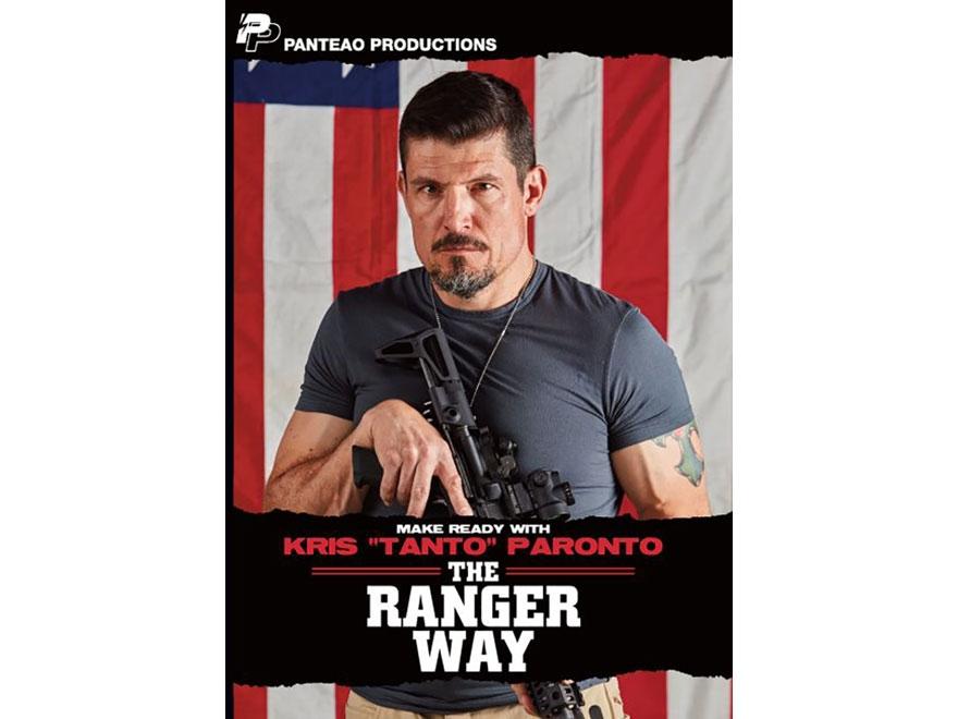 """Panteao """"Make Ready with Kris """"Tanto"""" Paronto: The Ranger Way"""" DVD"""