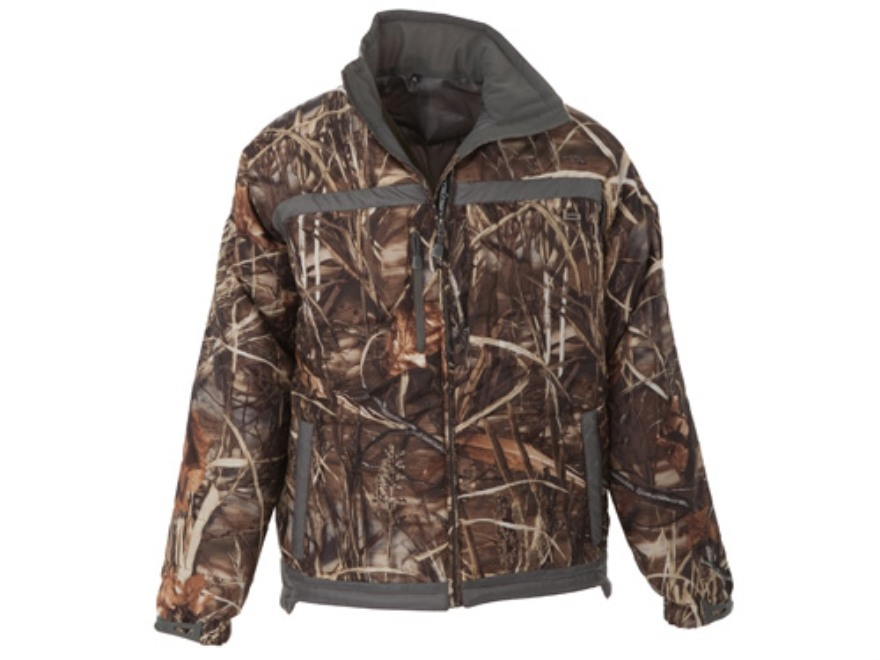Banded Men's Line Drive Insulated Jacket Polyester Realtree Max-4 Camo Large