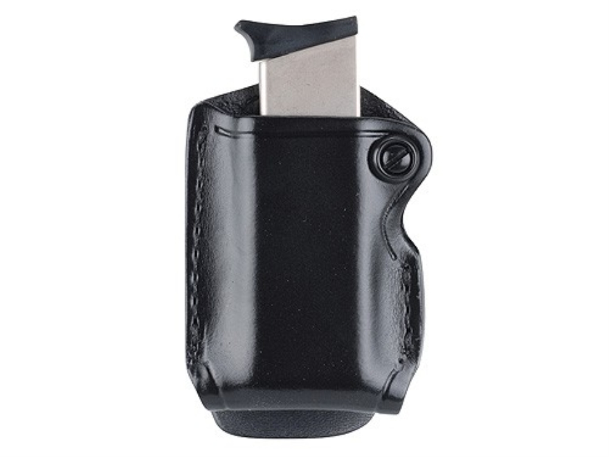 Gould & Goodrich B830 Paddle Single Magazine Pouch Leather Black