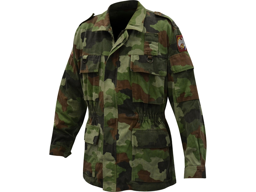 Surplus Serbian Camo Field Jacket