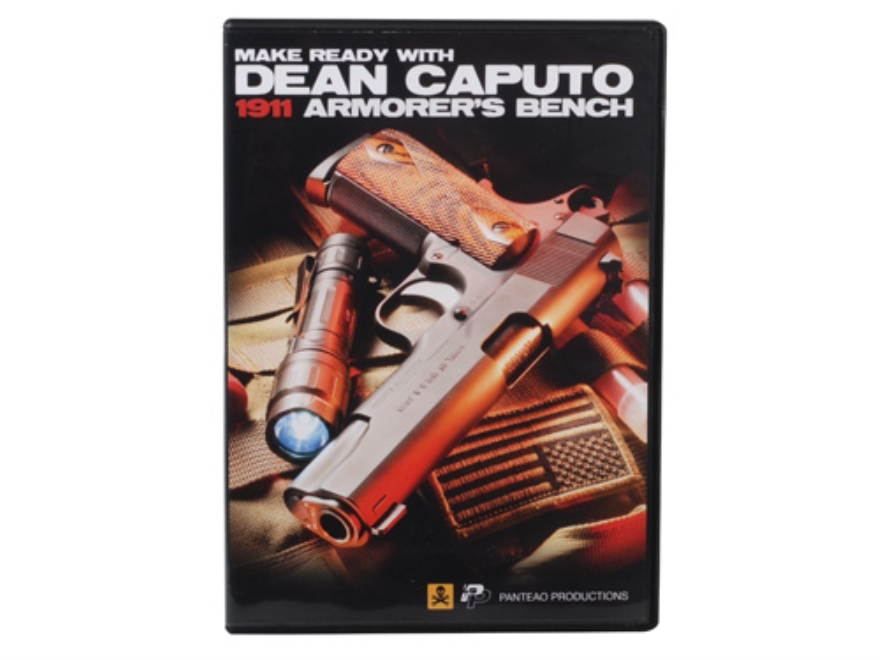 "Panteao ""Make Ready with Dean Caputo: 1911 Armorer's Bench"" DVD"