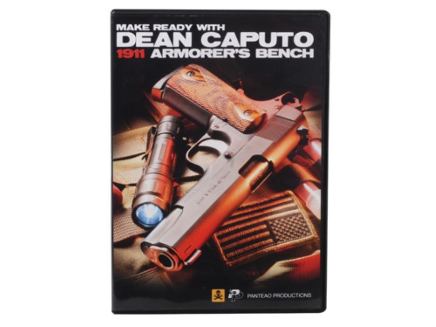 """Panteao """"Make Ready with Dean Caputo: 1911 Armorer's Bench"""" DVD"""