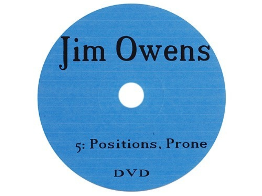 "Jim Owens Video ""Positions: Prone"" DVD"