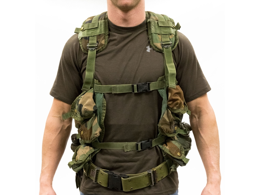 Military Surplus Load Bearing Vest (LBV) Kit Grade 3