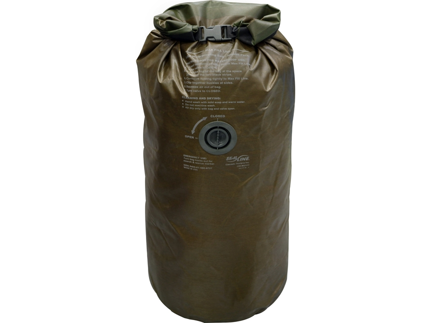 Military Surplus USMC Waterproof Dry Bag
