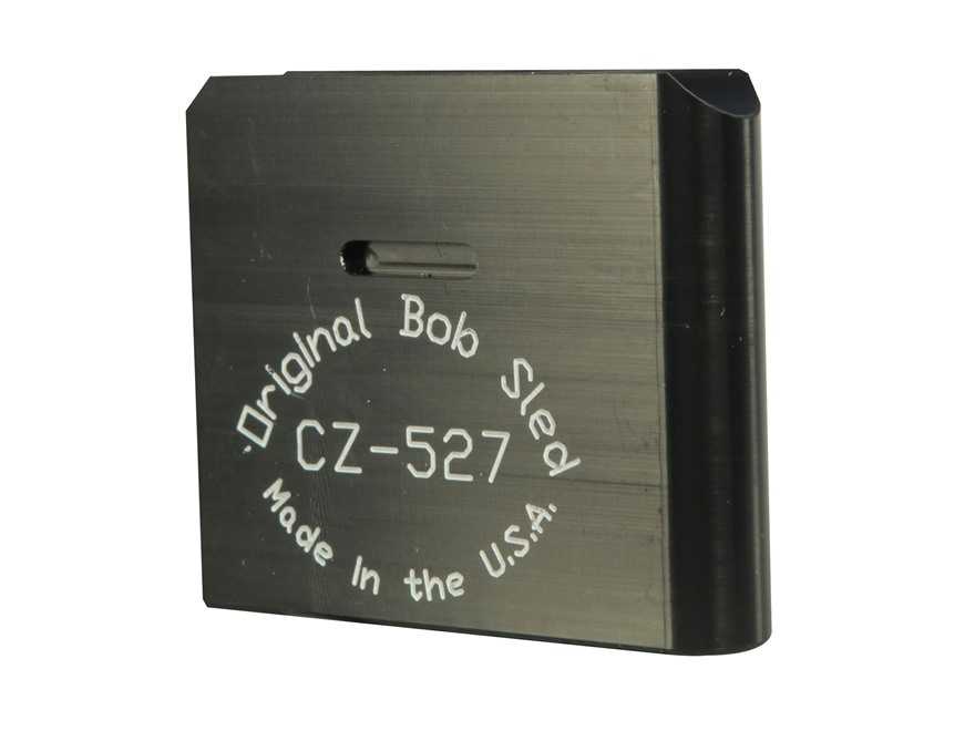 Original Bob Sled Loading Block CZ-527 22 Hornet, 221 Fireball, 222 Remington 1-Round P...