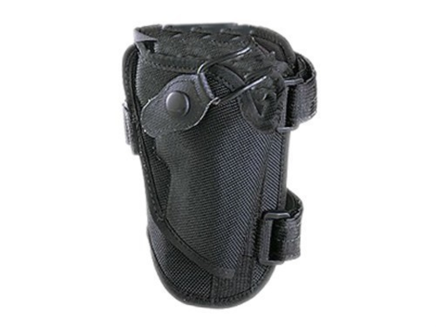 Bianchi 4750 Ranger Triad Ankle Holster Right Hand Large Frame Semi-Automatic Nylon Black