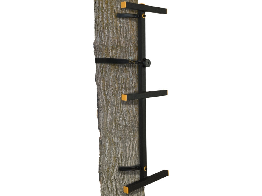 Muddy Outdoors The Outfitter Treestand Climbing Stick Steel Black Pack of 3